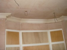 New build Cornice installation in Cheltenham