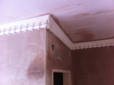 New Installation of Gothic cornice in Middlesex