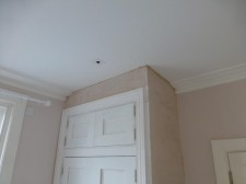 Match existing cornice installation in Wimbledon Hill