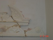 Cornice repair in East Molesey